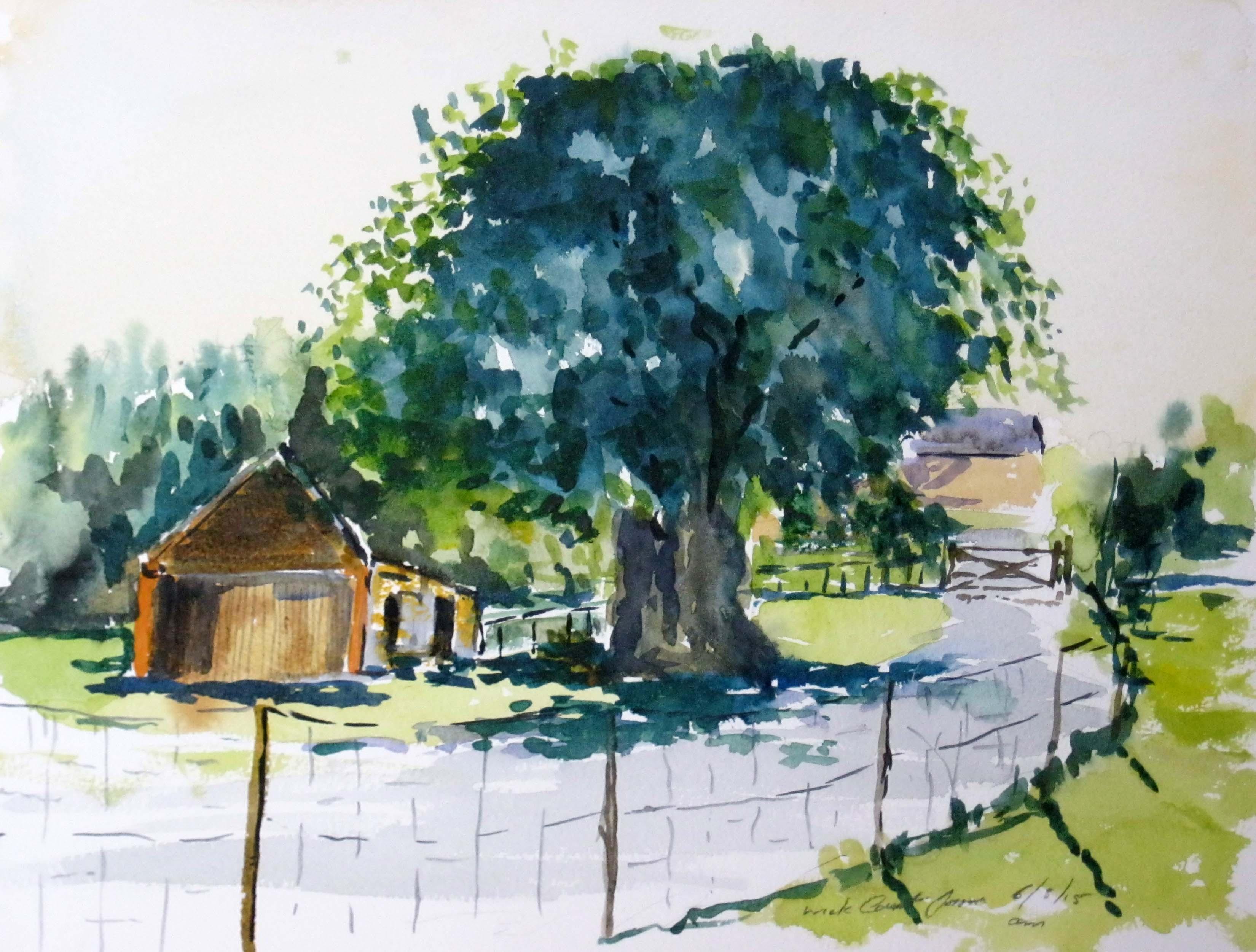 beginners watercolour class, southport, liverpool, merseyside